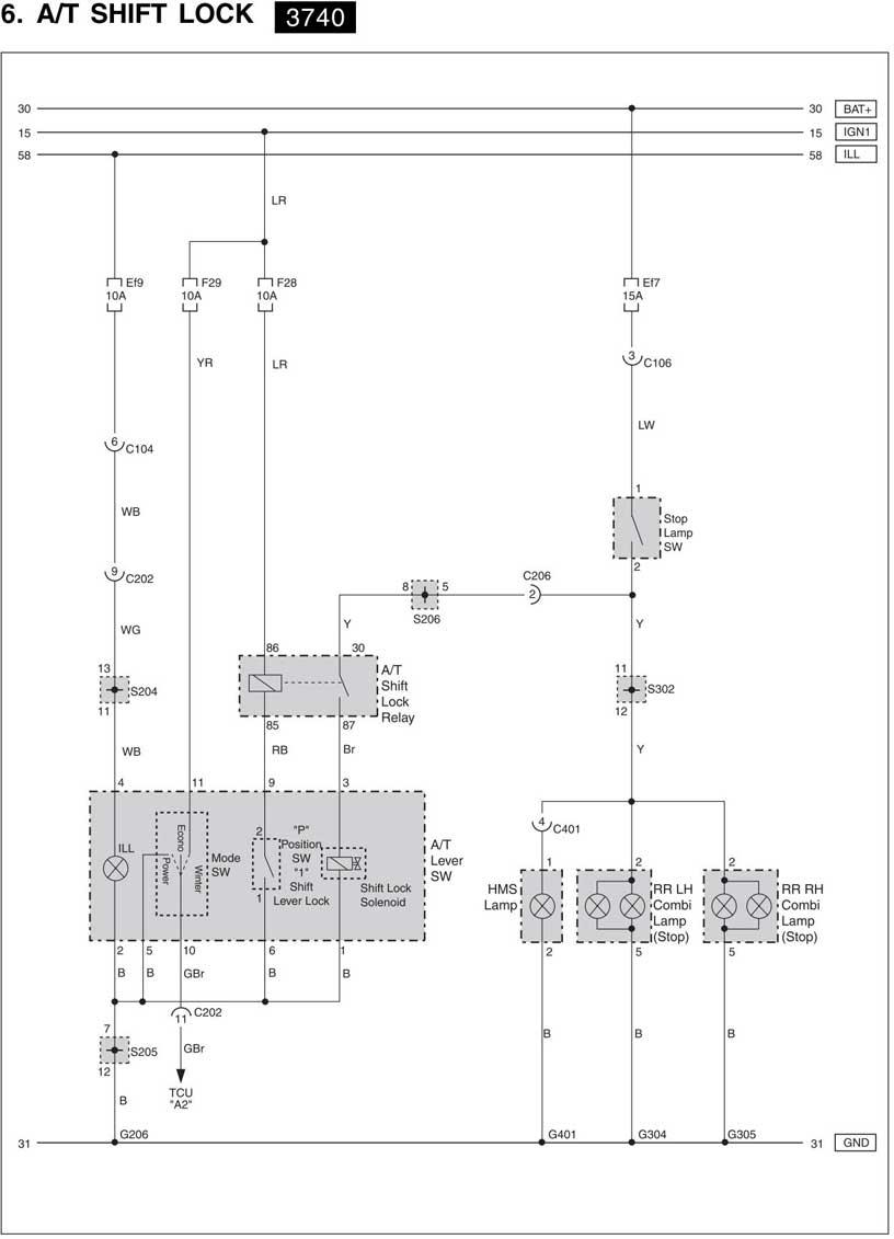 h схема управления двигателем ssangyong